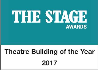 KINGS CROSS THEATRE WINS THE STAGE AWARDS 'THEATRE BUILDING OF THE YEAR 2017'
